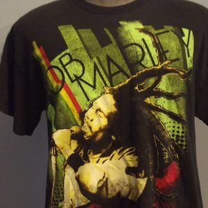 Men's Bob Marley Graphic Tshirt